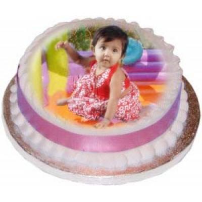Kid's Photo Cake