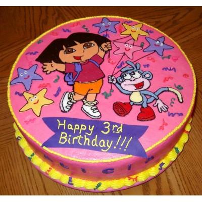 Dora Bujji Cake
