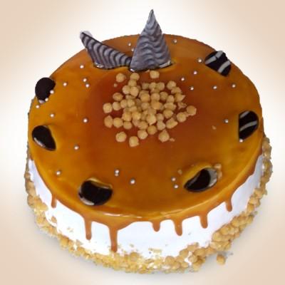 Butterscotch ball cake