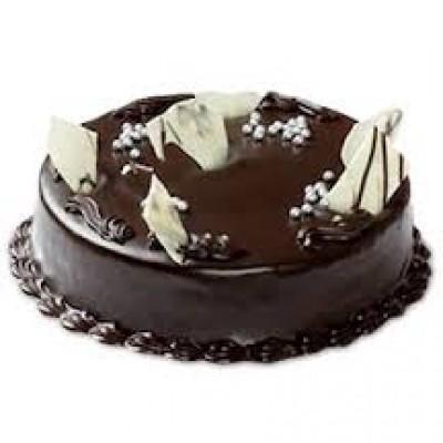 chocolate  truffle with garnishing