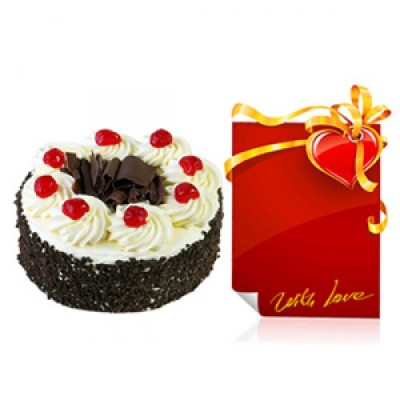 1 Kg Cake and Card