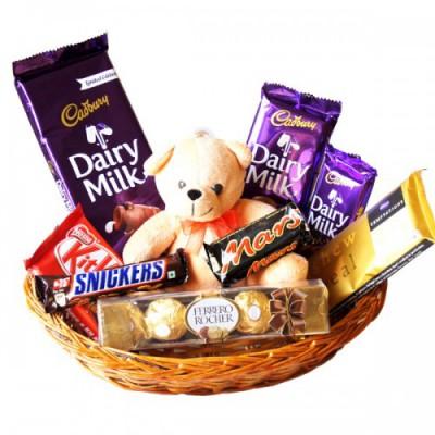 Choco Bear Basket