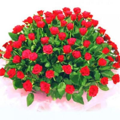 60 Roses Basket