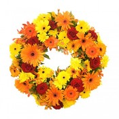 Flowers Wreath that Express Your Sympathy (7)