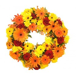 Flowers Wreath that Express Your Sympathy