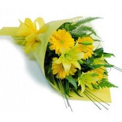 Lillies And Gerberas