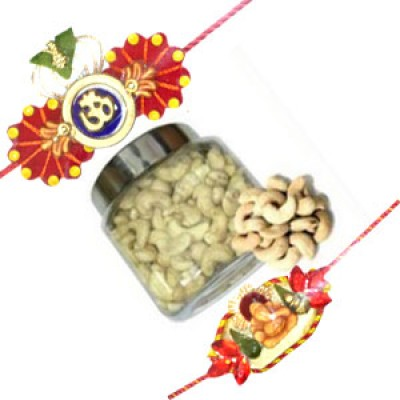 cashew with divine rakhis