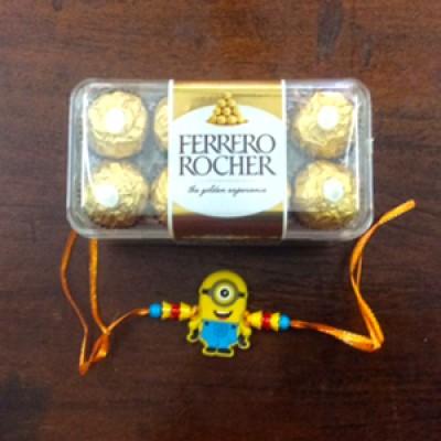 Kids Rakhi n Ferrero
