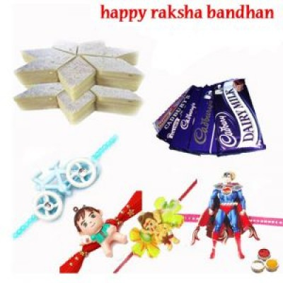 kids rakhi  n Sweets