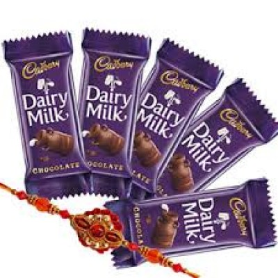 5  chocolates n Rakhi