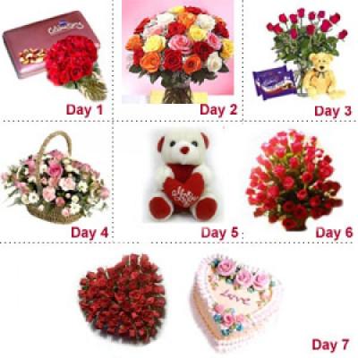 7 Days Valentine Gift